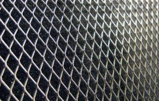 Diamond Cut Mesh Grill